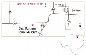 Rayburn Map