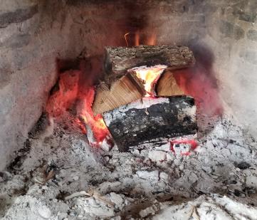Fire in enslaved cabin