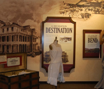 Fulton Mansion Museum exhibit