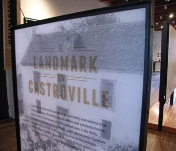 Landmark Inn exhibit