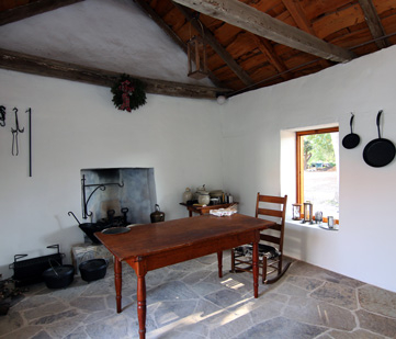 The period kitchen.