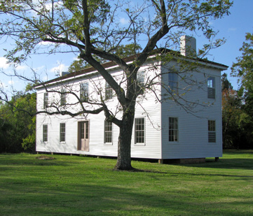 The main plantation house.