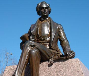 SFA statue.