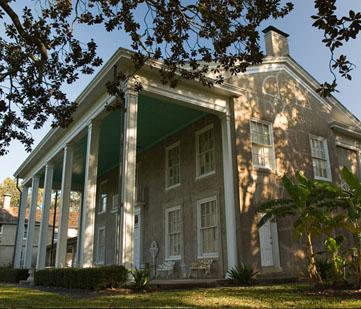 Exterior of the main plantation house.